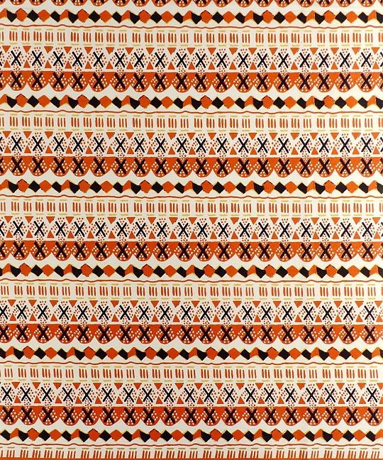 Woodin Cross Stitch Orange